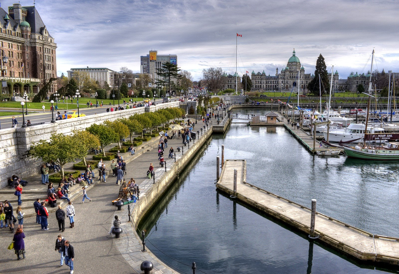 Victoria B C Inner Harbour Voted One Of The Top 10 Vacation Spots By Conde Neste Magazine
