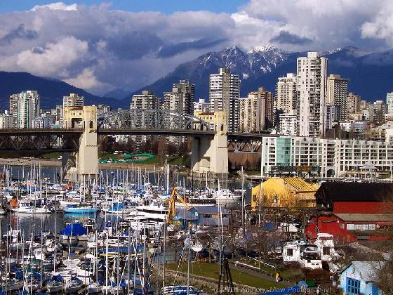 Queen Elizabeth Park In Vancouver Has Views From All Directions Across The City To Faraway