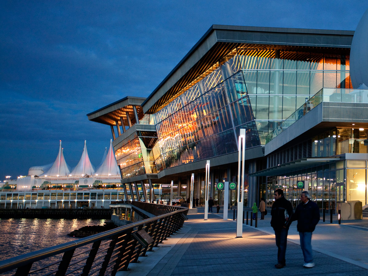 Unquestionably the Vancouver Convention Centre is one of a kind ...