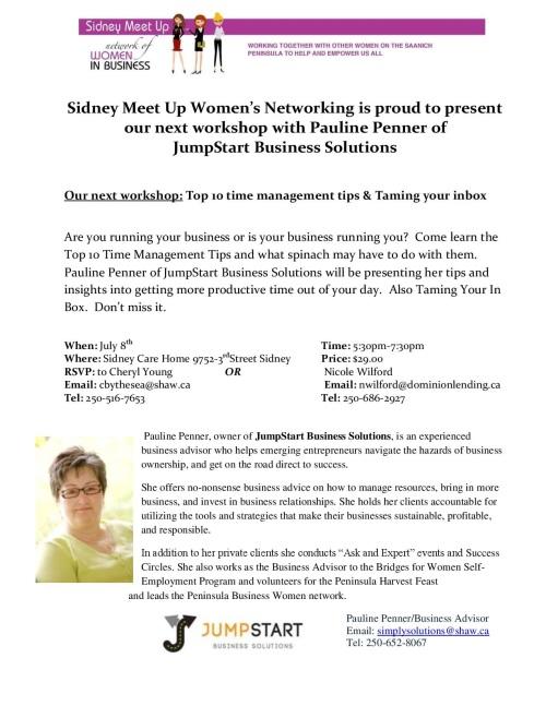 Pauline Penner Workshops - series 3
